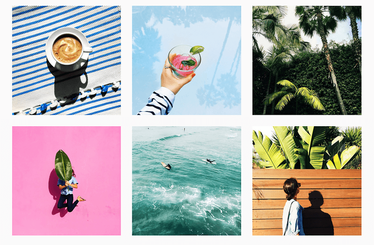 Instagram feed example from Amy Stone
