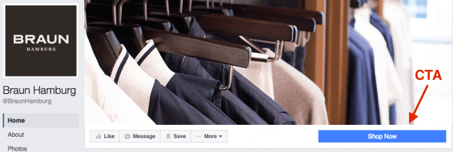 How to build an audience on Facebook: Braun Hamburg example