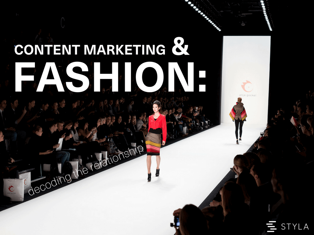 Why Content Marketing In Fashion Is An Obvious Trend